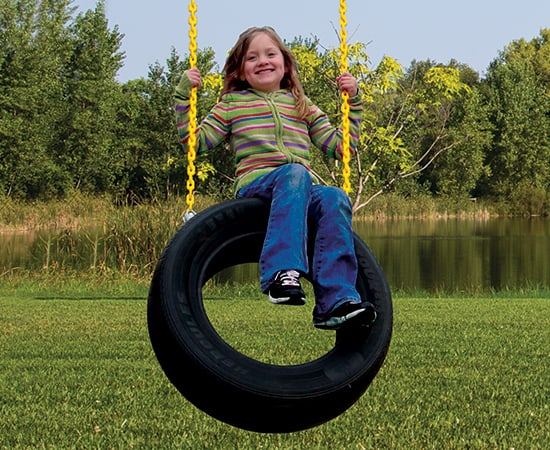Tire Swing 2-Chain (126)