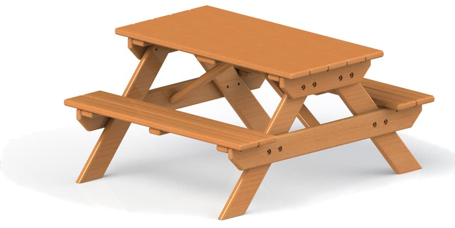 Picnic Table (Free Standing)