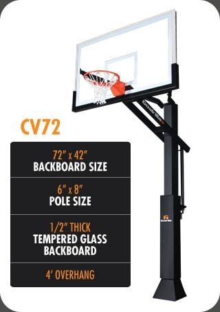 Goalrilla CV72 – Regulation Size Hoop