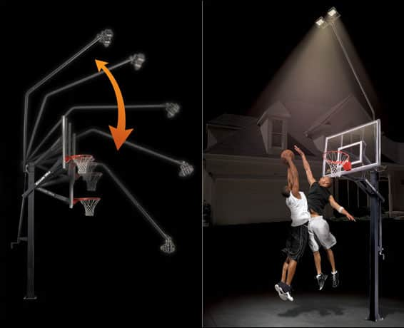 Goalrilla Deluxe Hoop Light
