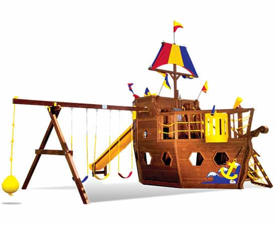 Pirate Ship Pkg II (94B)