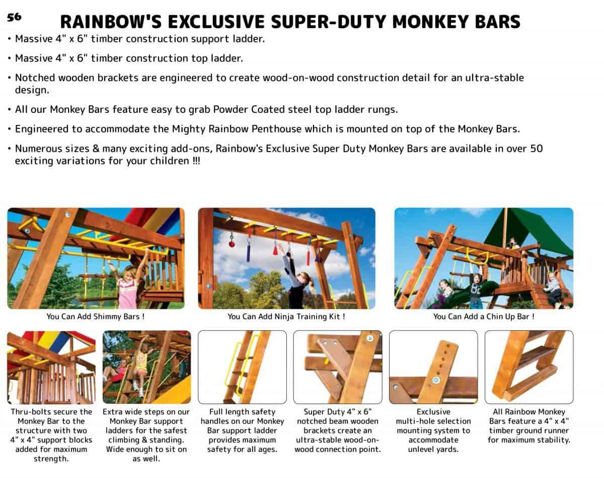 Monkey Bars (Monster) (180)