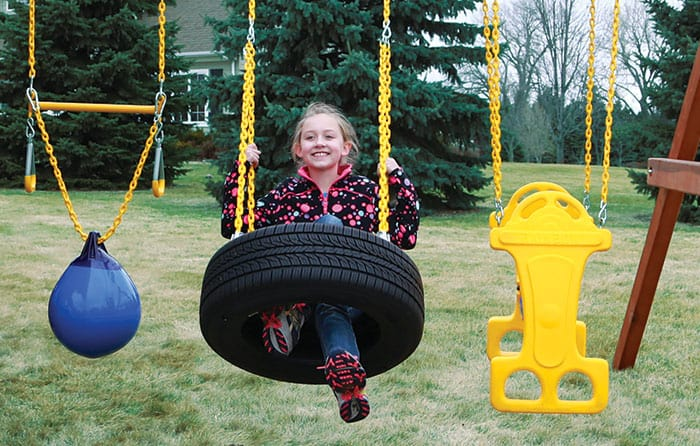 Tire Swing 4-Chain (127)