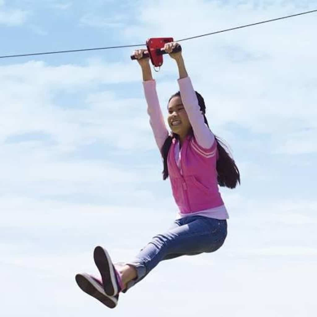 Zip Line Cable Ride (40′ to 70′)