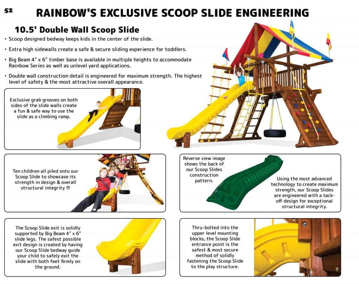 10.5′ Safety Scoop Slide (173)
