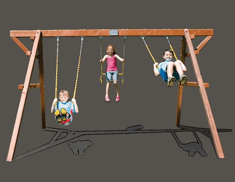 Free Standing Swing Set