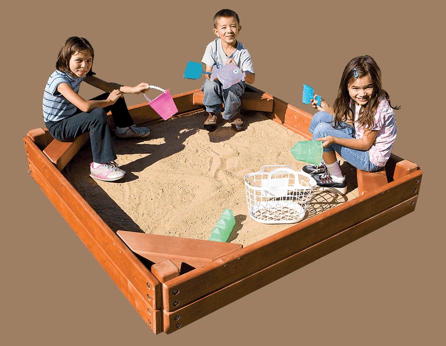 Sandbox (5 x 5′)