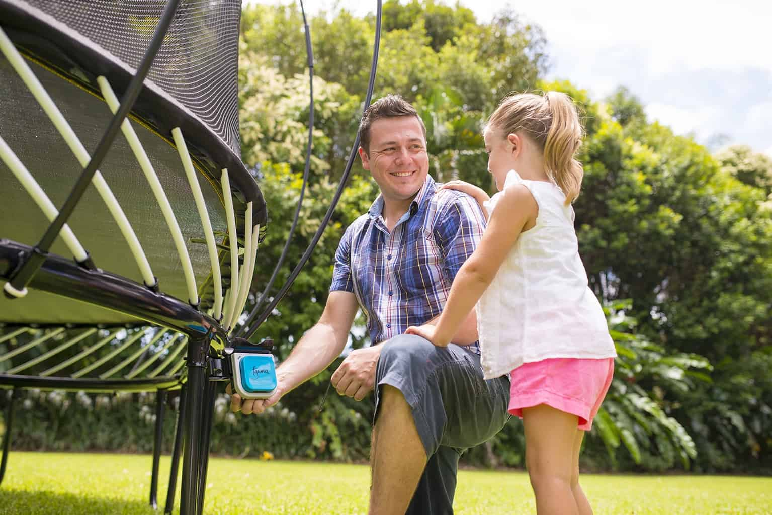 Tgoma Gaming System for Springfree Trampoline
