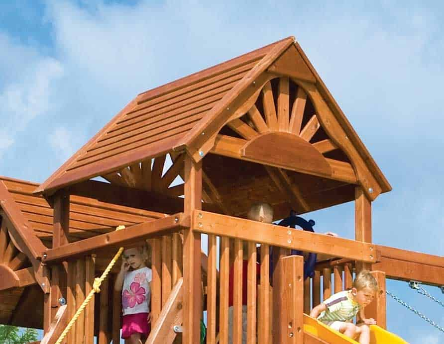 Wood Roof Upgrade – Clubhouse (Sun/Rainbow) (162)