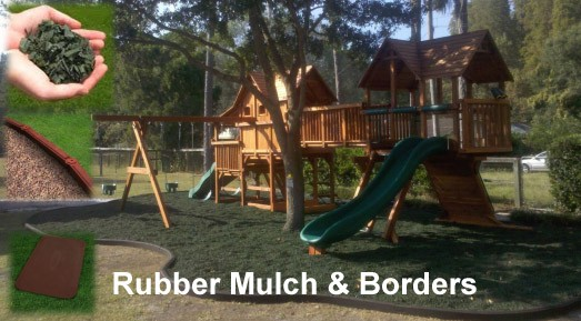 Rubber Mulch (40 lb Bag)