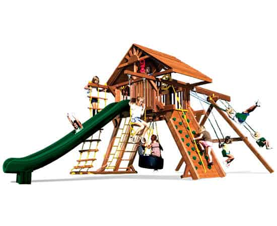 Monster Castle Pkg II Wood Roof (21D)