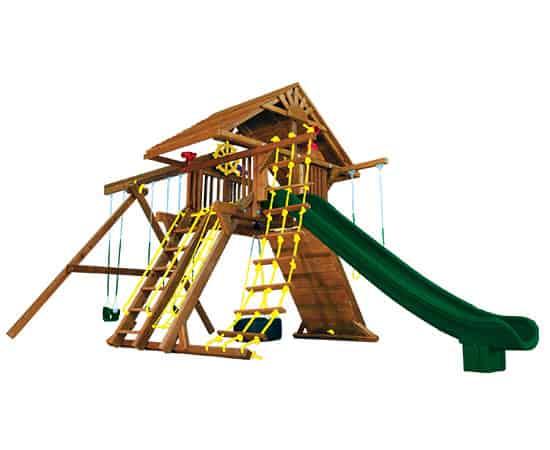 Monster Castle Pkg II Wood Roof (21D)