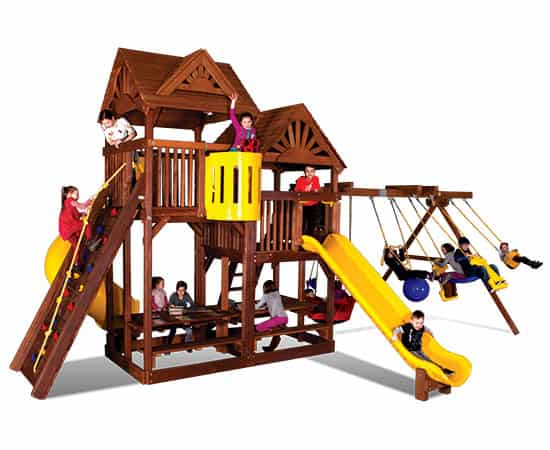 King Kong Clubhouse Wood Roofs (54E)