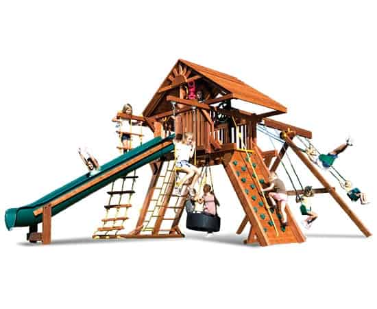 Monster Castle Pkg II Loaded Wood Roof (25D)