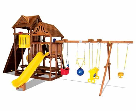 King Kong Club Pkg II w/Party Tables & Wood Roofs (45E)