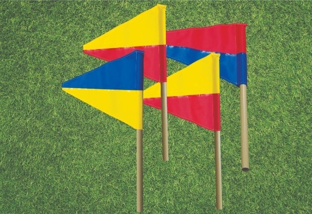 Rainbow Flags & Dowels (Replacement) (140)