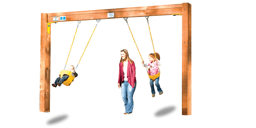 Commercial Toddler Swingset (C61)