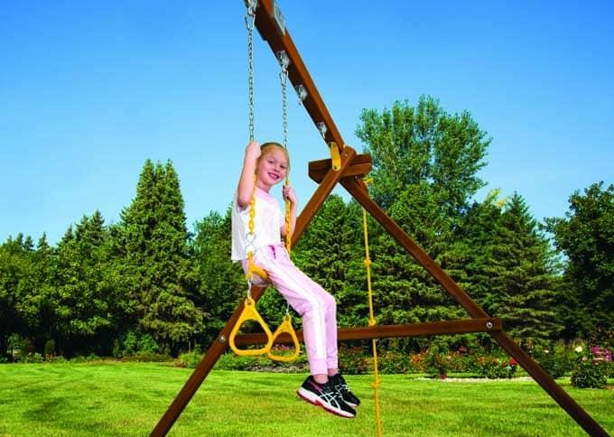 Trapeze w/ Rings Swing (121)