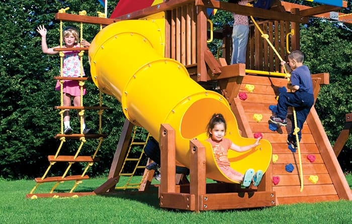 90 Degree Tube Slide