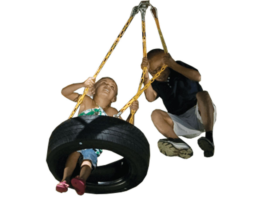 Tire Swing 3-Chain (136)