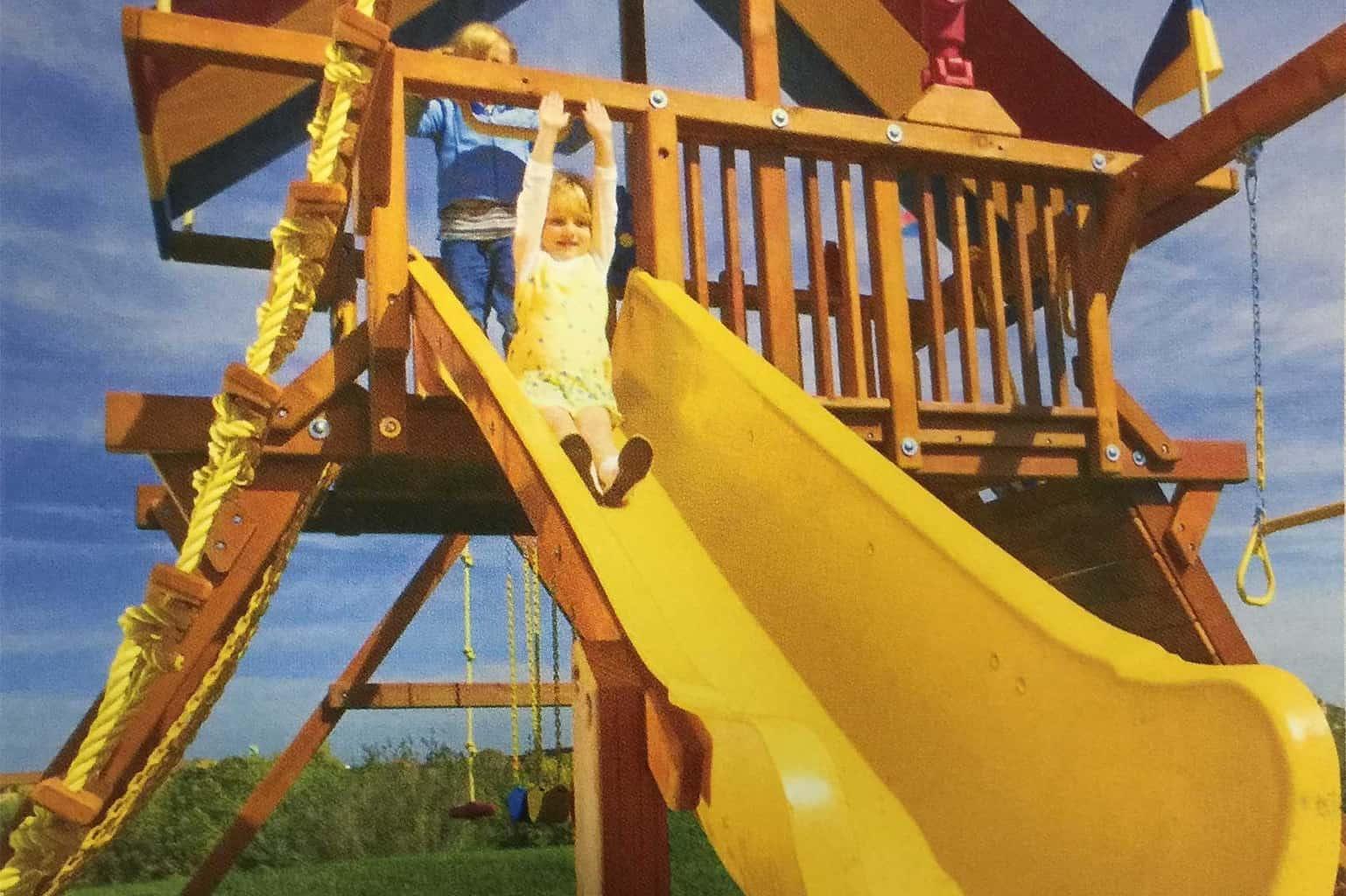 10′ Super Scoop Slide