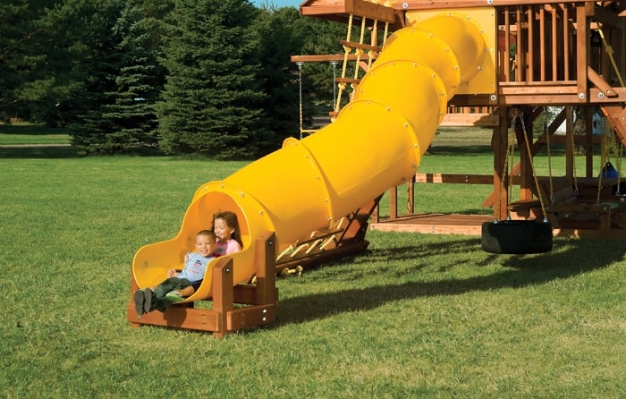 Squiggle Wiggle Tube Slide
