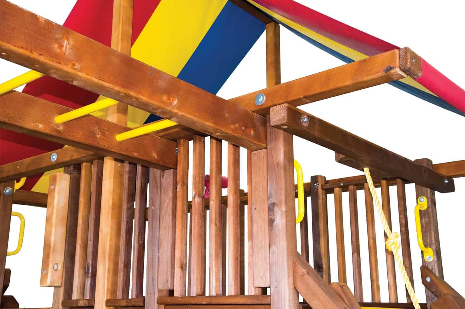 Rainbow Castle Pkg V w/ 270° Spiral Slide (19G)