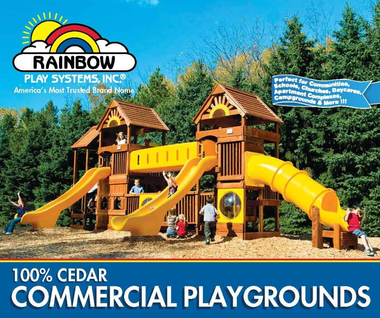 Commercial Swingset (C60)