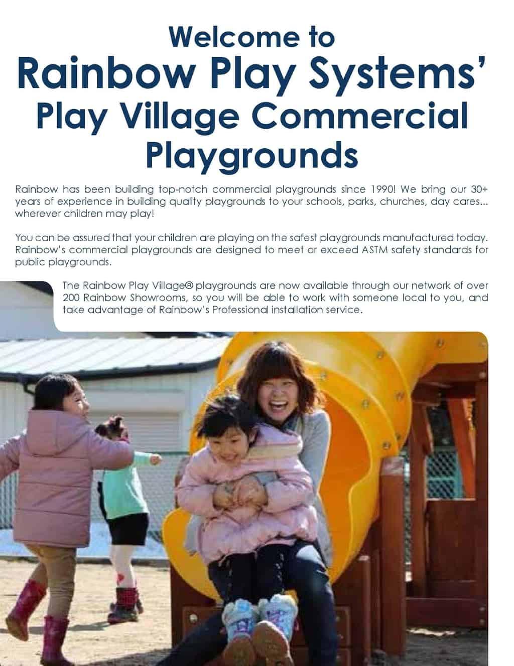 Commercial Toddler Swingset (C61)
