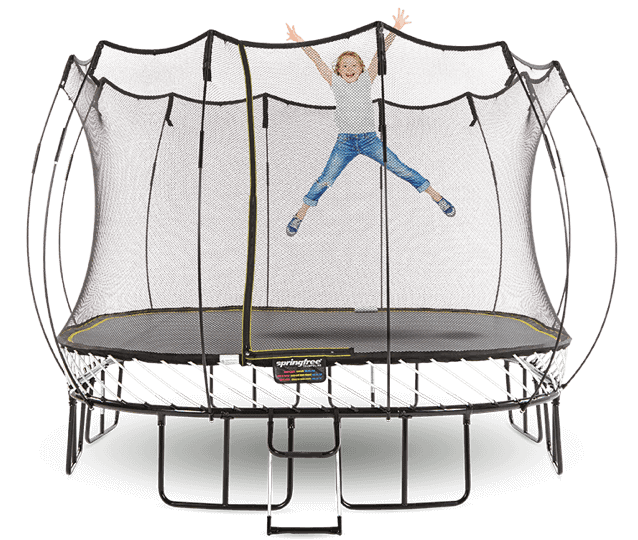 8 x 11 Medium Oval Springfree Trampoline