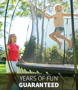 11 x 11 Large Springfree Trampoline