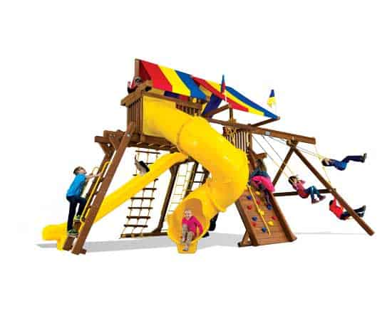 King Kong Castle Base Pkg V w/ 270° Spiral Slide (25E)