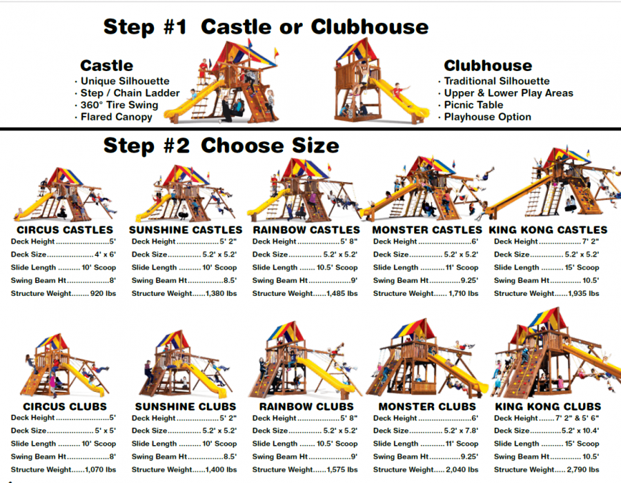 Choose Your Playset Size