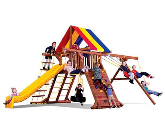 Circus Castle Pkg II Feature Model (6A) ENTRY-LEVEL SERIES