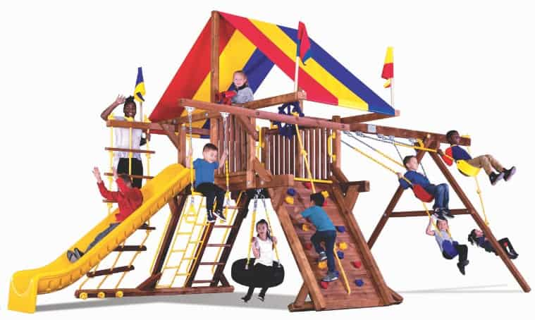 castle style playsets