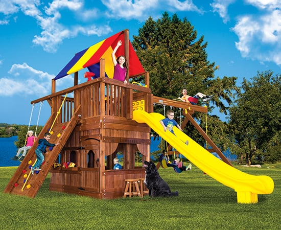 Monster Clubhouse II w/ Playhouse & More (41B)
